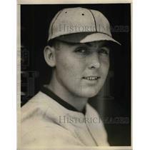 1925 Press Photo Ralph Michaels Third Baseman Chicago Cubs Baseball Team Player