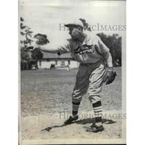 1934 Press Photo Paul ( Daffy)Dean  of  St Louis Cardinals