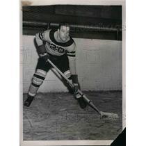 1939 Press Photo Richard J. Purnell Baltimore Princeton Hockey