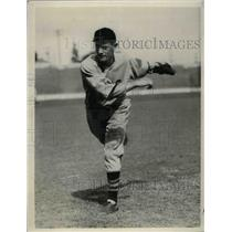 1926 Press Photo Tony Kaufman Rookie Pitcher St. Louis Cardinals Spring Training