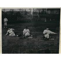1934 Press Photo Cornell University Ross Lippin, Joseph Rhilw