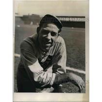 "1934 Press Photo Paul ""Dffy"" Dean of Dean Boys St Louis Cardinals - nea05888"