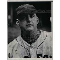 1933 Press Photo Red Sox Pitcher Bob Kline