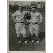 1930 Press Photo Warren Mayell, Beryl Follet