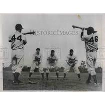 1937 Press Photo Orville Jorgens, Joe Bowman, Del Young, H. Martin, F. Taury