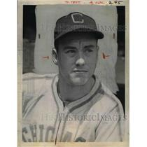1940 Press Photo Bob Kennedy, Outfielder and third baseman of Chicago White Sox.