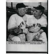 1922 Press Photo Leo Durocher NY Giants Manager Joseph Amalfitano