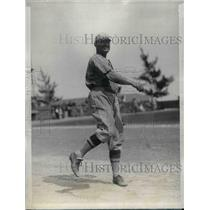 1927 Press Photo Cardinals Pitcher CC Littlejohn At Training Camp - nea02021
