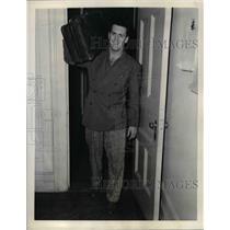 1941 Press Photo NY Rangers hockey, Murray Patrick - nea06606
