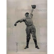 1936 Press Photo Alex Kampouris, Infielder of the Cincinnati Reds. - nea02138