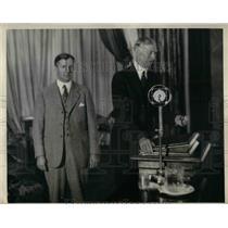 1931 Press Photo Connie Mack, PA. Athletics Mgr. at Temple University PA.