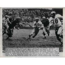 1949 Press Photo Eagles Frank Regan Returns Kickoff 30 Yards To Steeler 44
