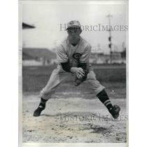 1937 Press Photo Lew Riggs, third Baseman for the Cincinnati Reds at Tampa, Fla