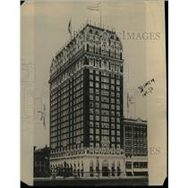 1921 Press Photo Blackstone Hotel in Chicago - nea11243