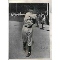1935 Press Photo Walter Berger, Boston Braves outfielder - nea07791