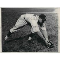 1932 Press Photo Johnny Moore, Outfielder of the Chicago Cubs. - nea10699
