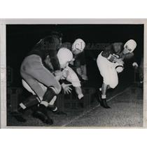 1944 Press Photo Redskins vs College All Stars charity game - nea09602