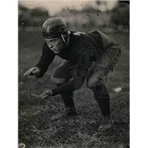 1921 Press Photo Captain Frank Brolley Marrin Deville High School - nea12480