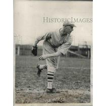 1928 Press Photo New York Giants Rookie Pitcher Bill Walker - nea08318