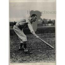 1931 Press Photo Washington Senators pitcher, Bob Burke - nea07795