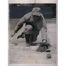 1939 Press Photo Edward Miller,Infielder of the Boston Braves. - nea11834