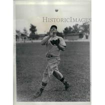 1937 Press Photo John H. Rothrock of Cincinnati Reds - nea12230