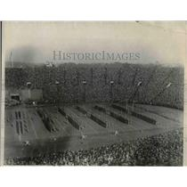 1923 Press Photo West Point vs Yale at stadium - nea09125