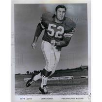 1966 Press Photo Dave Lloyd, linebacker - nea08522