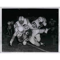 1959 Press Photo Colts -All Stars game, L Hickman,G Lipscomb,D Szymanski