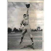 1941 Press Photo Nicholas Witek,infielder for NY Giants at spring training