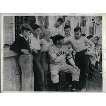 1934 Press Photo Chicago Cubs Pat Malone - nea12435