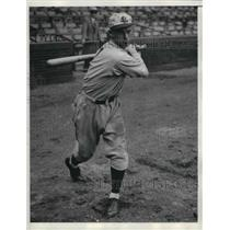 1933 Press Photo Art Scharein of St. Louis Cardinals - nea13426
