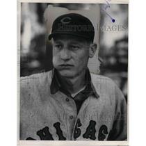 1936 Press Photo Lon Wameke Chicago Cubs Baseball Player - nea07746