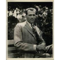 1930 Press Photo Edwin Wells of New York Yankees - nea07603