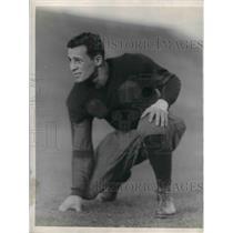 1928 Press Photo Onatoe Raysson halfback football player Chicago - nea08942