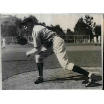 1931 Press Photo Richard Montague of Cubs - nea10330