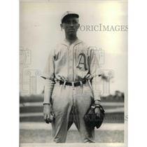 1929 Press Photo Phil Wagner, rookie pitcher, Philadelphia A's - nea08076