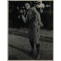 1921 Press Photo Southern California University Football Player Phil Tiernan