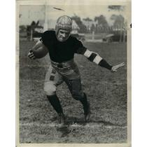 1926 Press Photo Charles Roger,halfback of Camdem New Jersey.