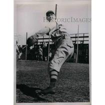 1935 Press Photo John Welch Pitcher Red Sox - nea08372