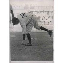 1939 Press Photo Bucky Harris of the Washington Nationals - nea09795