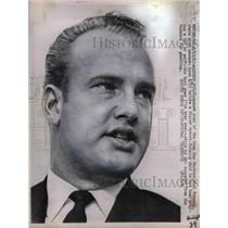 1963 Press Photo Green Bay Packers Paul Hornung - nea18243