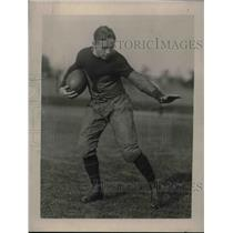 1922 Press Photo Johnny Garman, Quarterback of Princeton Univ.Football Team.