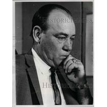 1967 Press Photo NY Mets manager, Wes Westrum