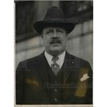 1909 Press Photo Frank Hall owner of Boston hotel where Pres Coolidge lived