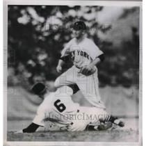 1952 Press Photo White Sox Bob Wilson vs NY Giants Dave Williams