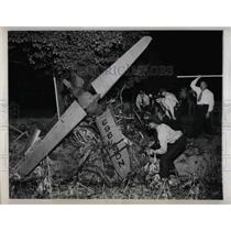 1946 Press Photo Light  plane crash kills radio star  Johnnie Neblett