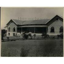 1924 Press Photo The Entebbe Club house in Africa - nea26960