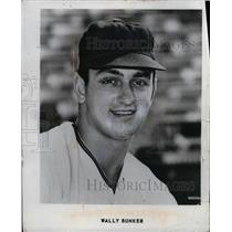 1970 Press Photo Wally Bunker
