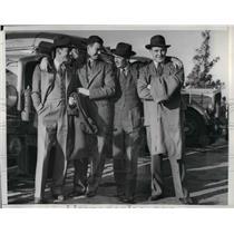 1941 Press Photo White Sox, J Webb,R Kennedy,H Ruel & M Tresh
